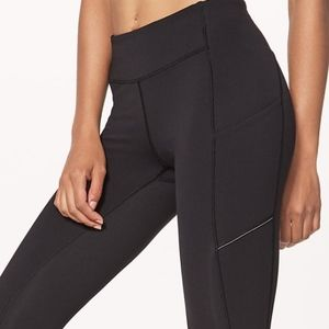 Lululemon Speed Up Tights with Mesh Back
